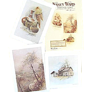 SALE Nancy Ward Heritage Series 3 Limited Edition Prints Initialed by Tennessee Artist Ben Ham