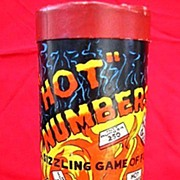 Vintage Hot Numbers Game from Selchow & Righter 1940s