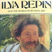 Ilya Repin and the World of Russian Art Book by Valkenier Soviet Union