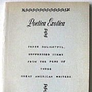 Poetica Exotica Ben Franklin Eugene Field James Whitcomb Riley Notorious Works