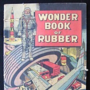 Wonder Book of Rubber 1960s Comic Book by B.F. Goodrich