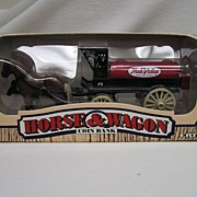 True Value Horse and Wagon Coin Bank by ERTL