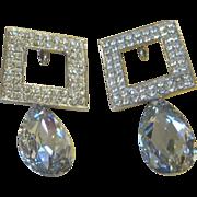 Jay Feinberg- Vintage Runway Statement Earrings