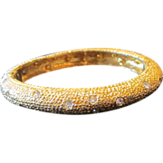 Kenneth Lane- vintage clamper bracelet