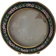 Micromosaic Picture Frame from Italy