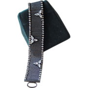 Hattie Carnegie - unusual signed vintage bracelet