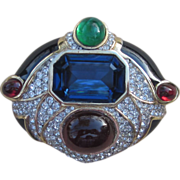 CINER- Stunning Large  Runway Brooch