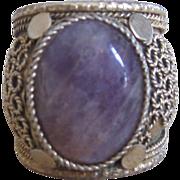 Sterling filigree vintage ring from Israel