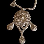 Napier- Huge Runway Pendant Necklace Stunning
