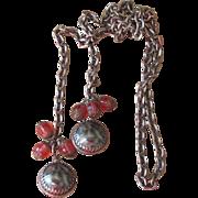 Bold Lariat Vintage Necklace