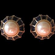Gay Boyer- Vintage signed earrings