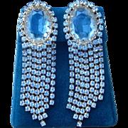 Juliana Runway Shoulder Duster Vintage Earrings