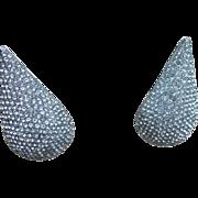Jay Feinberg Huge Vintage Runway Earrings