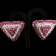 Richard Kerr Vintage Signed Designer Earrings