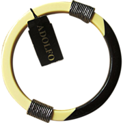 ADOLFO- Old Stock Super Bangle Bracelet