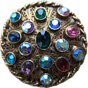 Super Vintage Colorful Brooch