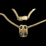 Pierre  Cardin Signed Vintage Unique  Moderne Necklace