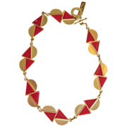Pierre Cardin Couture Signed Vintage Runway Necklace