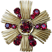 Weiss- Vintage Signed Quality Brooch