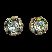 DeMario New York Outstanding Signed Vintage Earrings