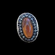 Dragon's Breath Vintage Sterling Ring