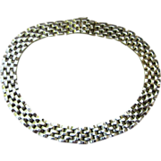 Panetta Stunning and Unique Signed Vintage Collar Necklace