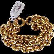 Erwin Pearl Old Stock Chunky Vintage Bracelet