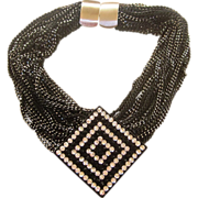 Jay Feinberg aka.. Strongwater Vintage Signed Runway Necklace