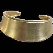Donna Karan Vintage Signed Cuff Bracelet