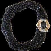 Donald Stannard Designer Couture Vintage Torsade Necklace