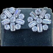 WEISS Super Vintage Elegant Signed Earrings