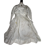 Antique dress For cloth or Leather bodied doll