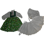 Tagged Heidi Dress 4 Madame Alexander doll