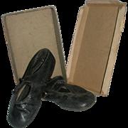 Shoes in original shoe box Dating 1906