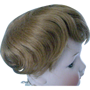 SOLD 9''-10'' Mohair Wig for Schoenhut or Boy Doll