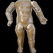 9 1/2'' Early German Kestner Schmidt Type Body