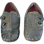 4 1/4''Antique  Leather Shoes