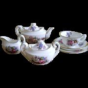 Miniature Royal Crown Derby  Tea Set