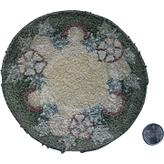 Silk Floss Round 6'' by 6 1/4''