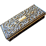 SALE PENDING Godinger Silverplated Jewelry Casket 1992