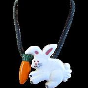 Flying Colors Bunny Rabbit Pendant