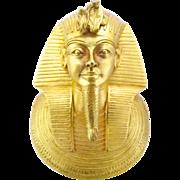 REDUCED MMA 1976 King Tut Death Mask Pendant
