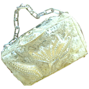 O.E.L. Graves Bubbly Lucite Purse - Hand Made
