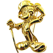 Wendy Gell Disney Mickey Mouse in his Top Hat Pin