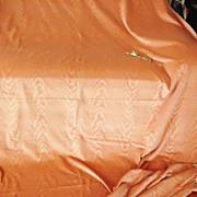 Muted Peach Velvet Moire Fabric 2 Yards plus