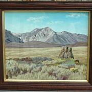 Mt Laurel Looking East Pastel Landscape