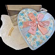 Rare ca 1920 Valentine HEART Chocolate Candy BOX w all original packaging