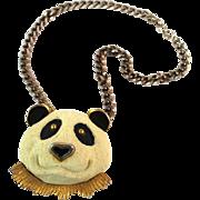 Vintage Razza Lare Panda Necklace