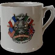 Royal Doulton WWI  Commemorative Mug 1919