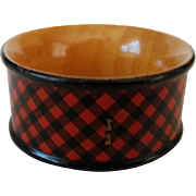 Scottish Tartanware Napkin Ring in Rob Roy